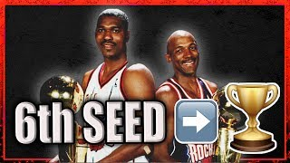 How the 1995 Rockets Won the Championship as the SIXTH Seed