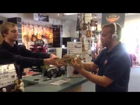 Yamaha Silent Brass Trumpet Pick Up Mute & a Bertrand's Buddies Short Commercial
