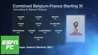 France vs. Belgium World Cup semifinal preview: Who are the game's best XI players? | ESPN FC