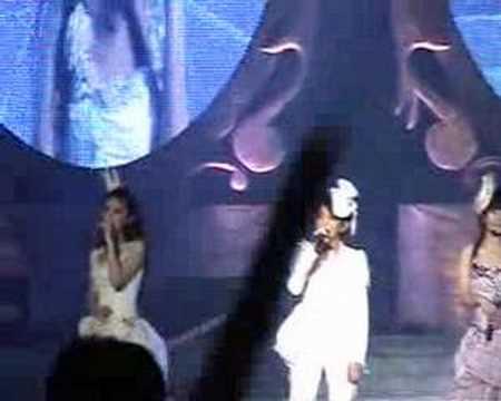 20070901 S.H.E移動城堡北京演唱會 - 候鳥 (Ella的rap!!)