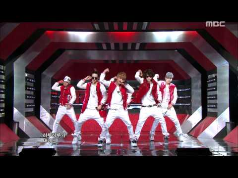 TEEN TOP - Crazy, 틴탑 - 미치겠어, Music Core 20120114