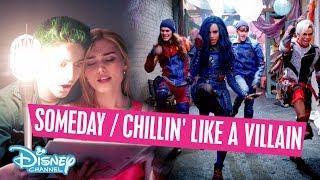 Z-O-M-B-I-E-S vs Descendants 2 | Someday / Chillin' Like a Villain Mix  - Disney Channel Danmark