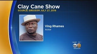 Once Mistaken For A Robber In His Own Home, Ving Rhames Held At Gunpoint By Police.