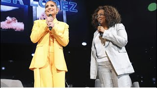 Oprah's 2020 Vision Tour Visionaries: Jennifer Lopez Interview