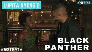 Lupita Nyong'o Dishes 'Black Panther' Scoop on Nakia and King T'Challa