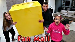 Giant Surprise Toy Box! Presents From Fans - LOL Surprise Dolls - Squishy Toys
