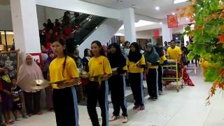 Pertunjukan Barongsai SMP YPPSB memperingati Tahun baru IMLEK