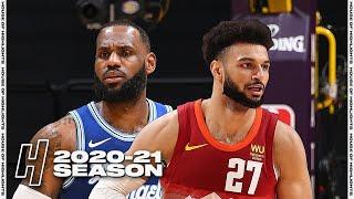 Denver Nuggets vs Los Angeles Lakers - Full Game Highlights | February 4, 2021 | 2020-21 NBA Season
