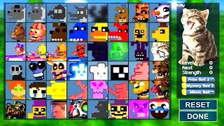 Super FNaF WORLD All 48 NEW Animatronics Unlocked (All Characters)