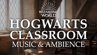 Hogwarts Classroom | Harry Potter Music & Ambience - 5 Scenes for Studying, Focusing, & Sleep