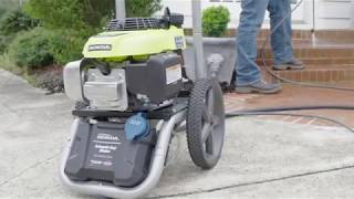Video: 3000 PSI HONDA PRESSURE WASHER