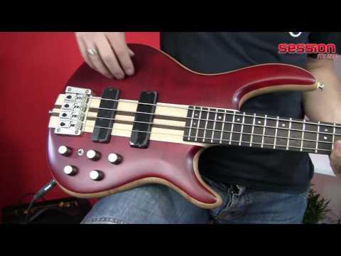 Cort A4 Artisan 4-String Bass Guitar - Open Pore Natural