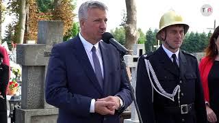 W piątkowe popołudnie na cmentarzu parafialnym w Wilczynie odsłonięto pomnik Antoniego Szulczyń