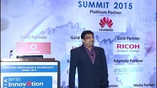 India BFSI Innovation & Technology Summit - Mumbai, June 2015.