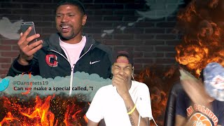 IM CRYING!!! NBA MEAN TWEETS COMPILATION REACTION!