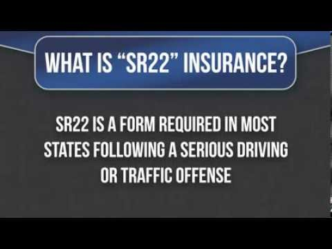SR22 Insurance - Affordable DUI Insurance Quotes
