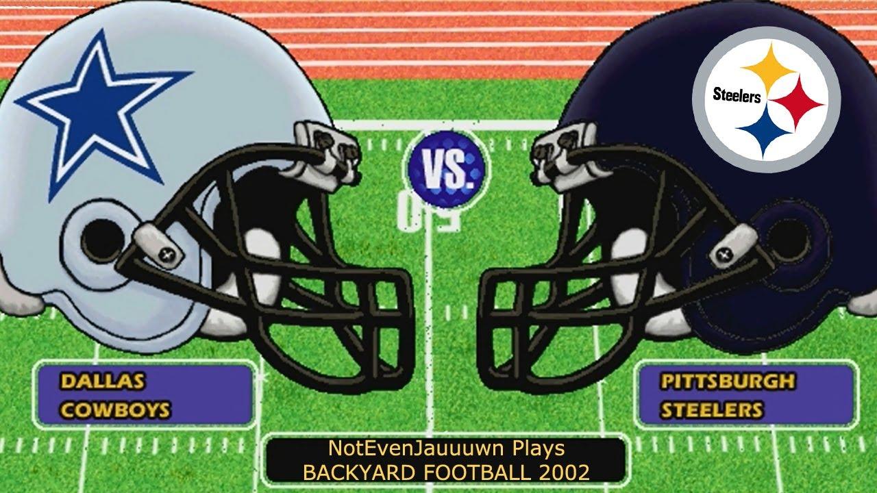 Backyard Football 2002 Game 4   Dallas Cowboys VS ...