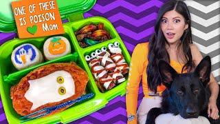 I tried Food Art Bentos 🎃 Halloween Kids Lunch