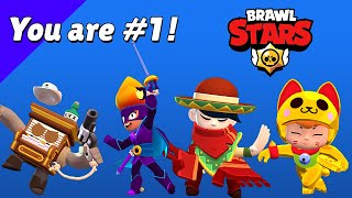 All New Skins Winning & Losing Animations - Brawl Stars Season 6 #GoldarmGang