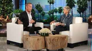 Ellen and Tom Hanks Talk As Dory And Woody