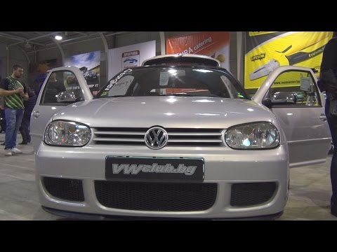 Volkswagen Golf Mk4 (2000) Exterior and Interior in 3D