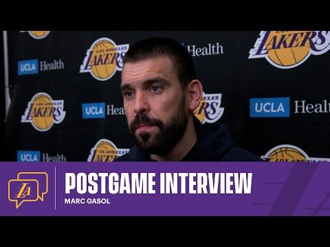 Lakers Postgame: Marc Gasol (5/3/21)