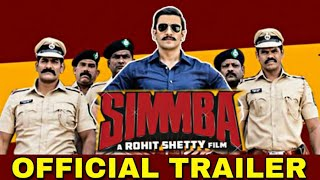 Simmba Trailer Out Today | Ranveee Singh | Sara Ali Khan | Rohit Shetty | Sonu Sood | Simmba Trailer