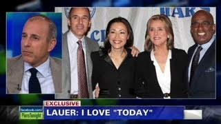 """Matt Lauer on staying at """"Today"""""""