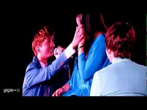 [120922] SMTOWN INA - Changmin and Kyuhyun - Just The Way You Are