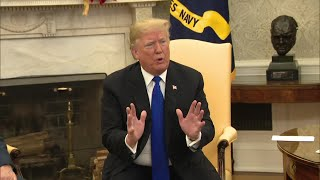 Trump, Democrats clash in White House meeting Pt. 2