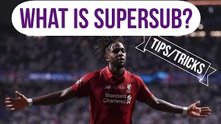 PES MOBILE: What is SUPER SUB?/ tips and tricks