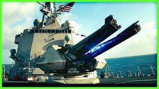 U.S. NAVY Electromagnetc RAILGUN Mach 7 Fire Tests | 2008-2017