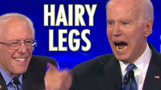 HAIRY LEGS - Songify Joe Biden getting fired up about legs and the hairiness thereof, launching int