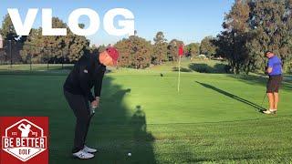 VLOG David Caddied on the LPGA tour!