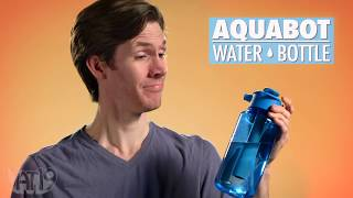 Bare and Scared | Aquabot Water Bottle
