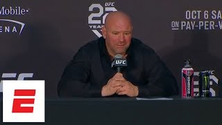 Dana White UFC 229 Post-fight Press Conference