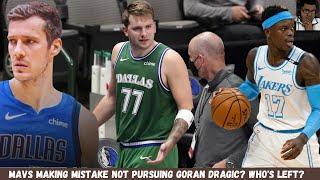 Mavericks Making Mistake Not Pursuing Goran Dragic for Luka Doncic?   Who's Left? Dennis Schroder?