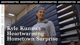 Kyle Kuzma returns home to Flint, Michigan