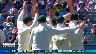 Second Test: Australia v England, day five