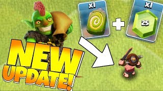 "NEW UPDATE BalaNce!! ""Clash Of Clans"" RUNE STONE is MINE!!"
