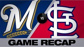 Bats, Lyles propel Brewers past Cardinals   Brewers-Cardinals Game Highlights 9/14/19
