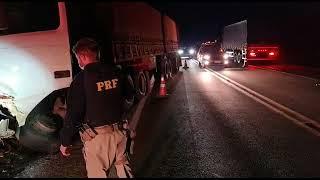 Homem de 55 anos morre em acidente de trânsito no km 244, da BR-386, em Soledade