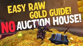 Easy Gold Guide!  Easy Raw Gold In WoW Shadowlands!