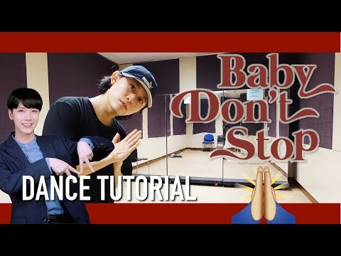 NCT U 엔시티 유 Baby Don't Stop Dance Tutorial | Full w Mirror [Charissahoo]