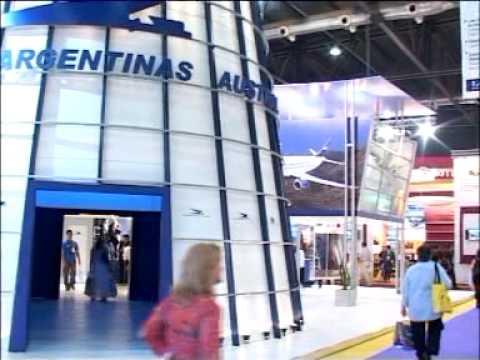 Stand Aerolíneas Argentinas ExpoFit 2005