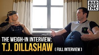 T.J. Dillashaw (full interview)