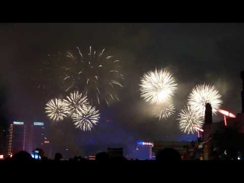 Fireworks @ Hong Kong - View from Avenue of Stars