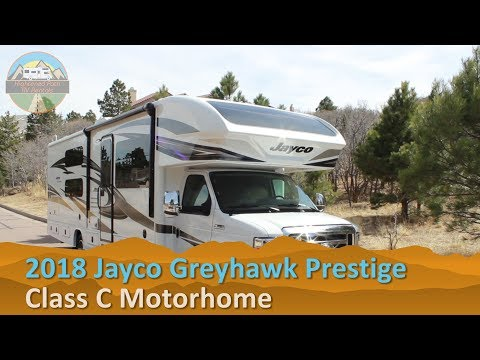 RV Rental Reviews 2018 Jayco Greyhawk Prestige Class C Motorhome Hire