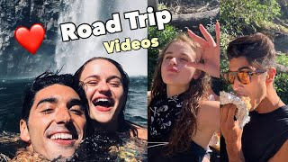 ROAD TRIP by Joey King & Taylor Zakhar Perez  (all their videos & photos)