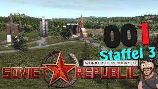 Unser neuer Ostblock 🚇 [S3|001] Workers & Resources: Soviet Republic deutsch